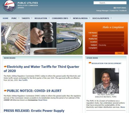 Public Utilities Regulatory Commission (PURC)